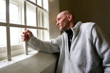 Uwe Preuss, 36, in his old Wellington Prison cell. Photo / Getty Images