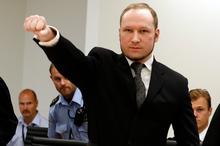 Anders Behring Breivik. Photo / AP