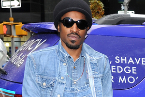 Rapper Andre 3000 plays Jimi Hendrix in his early years. Photo / AP