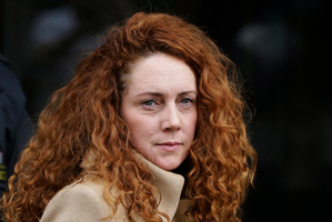Rebekah Brooks, former editor of Britain's best selling newspaper the Sun. Photo / AP