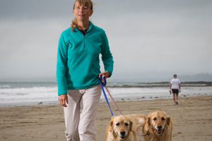 Jill Parsons and other dog owners can relax with an Auckland-wide bylaw that has been a year in the making. Photo / APN