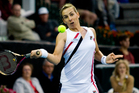 Marina Erakovic in action. Photo / Dean Purcell
