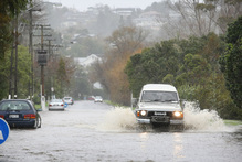 Auckland could be in for more wet days than usual this November.  Photo / Chris Gormon