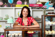 Karla Goodwin, proprietor of Bluebells Cakery. Photo / Babiche Martens.