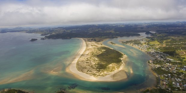 Property in remote spots like Ngunguru spit, near Tutukaka in Northland, is attracting strong interest as city folk seek some peace. Photo / NZ Listener