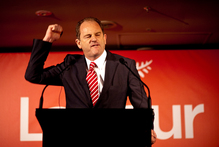 Labour Party leader David Shearer does not inspire the public's confidence during his speeches. Photo / Dean Purcell