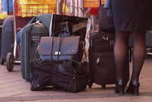 From next week, extra luggage will cost air travellers more.  Photo / Glenn Jeffrey