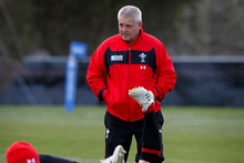 Warren Gatland's return to coaching Wales coincides with the All Blacks' arrival in Cardiff. Photo / Christine Cornege