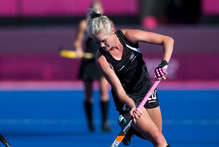 Samantha Harrison in action during the Olympics. Photo / Brett Phibbs