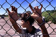 Young asylum seeker from Iraq on Nauru. File Photo / NZ Herald