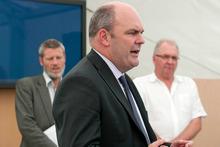 The Minister of Tertiary Education Steve Joyce. Photo / NZ Herald
