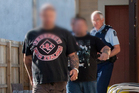 Charges against members of the Red Devils motorcycle gang were dropped after allegations that police had misled the courts. Photo / NZPA-NZ Police