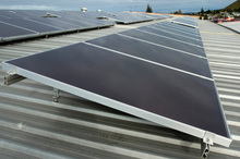 New Zealand's reliance on renewable energy made solar grids attractive here. Photo / NZPA