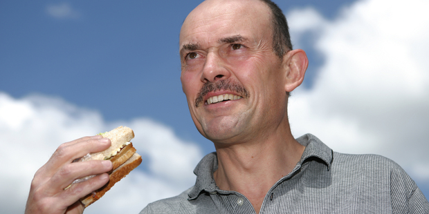A stranger used the Heimlich Manoeuvre to save Tony Henderson, pictured, when he choked on a sandwich. Photo / Ron Burgin