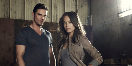 Kiwi actor Jay Ryan as Vincent and Smallville's Kristin Kreuk as Catherine in Beauty and the Beast. Photo / Supplied