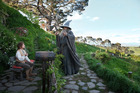 Gandalf and Bilbo Baggins in The Hobbit: An unexpected Journey. Photo / Supplied