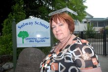 Solway Primary School principal Gail Marshall. Ph