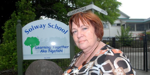 Solway Primary School principal Gail Marshall. Photo / Nathan Crombie