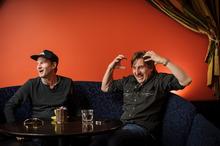 Greg Johnson (left) and Wayne Bell. Photo / Ted Baghurst