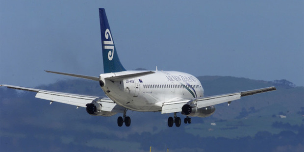 Air New Zealand's long-haul passenger numbers were down last month compared to October 2011. Photo / NZH