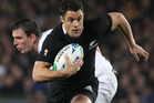 Daniel Carter is in doubt for Sunday's test against Wales. Photo / Paul Estcourt
