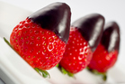 Chocolate dipped strawberries: the taste of summer. Photo / Thinkstock