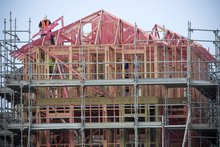 There has been a noticeable pick-up in building works, mostly in new house builds. Photo / File