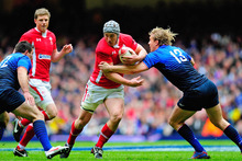 Jonathan Davies returns from a