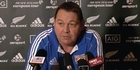 Watch: All Blacks: Hansen's team to play Wales
