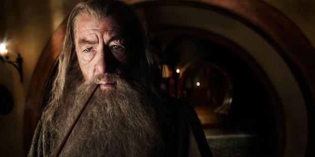 John Key denies driving Ian McKellen away from The Hobbit premiere. Photo/supplied