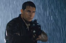 Tom Cruise in a scene from Jack Reacher.