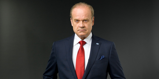 Kelsey Grammer will not be back as Chicago mayor Tom Kane. Photo/supplied