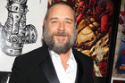 Russell Crowe is too busy to spend time with his kids. Photo/AP