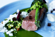 Sidart's venison main course. Photo / Steven McNicholl