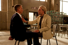 Daniel Craig and Javier Bardem in a scene from Skyfall. Photo/AP
