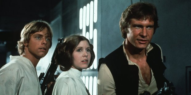 Luke Skywalker, Princess Leia and Han Solo will be back in new Star Wars films. Photo/supplied