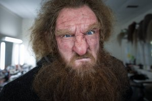 The Hobbit's make-up artists achieved some amazing transformations. Photo/supplied