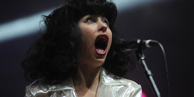 Kimbra has been named Best Female at the ARIA Awards. Photo / Getty