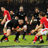 New Zealand All Blacks forward Tony Woodcock rumbles in for the second try during the International Match between Wales and New Zealand. Photo / Getty Images