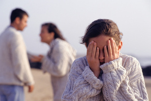 Teens who see their parents arguing are more likely to suffer depression.Photo / Thinkstock
