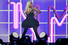 Nicki Minaj performing at Vector Arena. Minaj is in Auckland as part of her Pink Friday Reloaded Tour 24 November 2012 Herald on Sunday Photograph by Neville Marriner