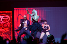 Nicki Minaj at Vector Arena. Photo / Neville Marriner
