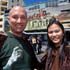 Andreas Goetz, of Germany, and Millie Tecson, Phillipines, dressed for the part as they arrive for the world premiere of The Hobbit. Photo / Mark Mitchell