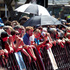 Crowds line the red carpet in Wellington. Photo / Mark Mitchell