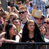 Crowds line the red carpet at the premiere of The Hobbit. Photo / Mark Mitchell