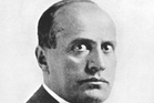 Portrait of Benito Mussolini. Photo / Thinkstock
