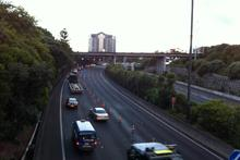 Traffic congestion on Auckland's Southern Motorway. Photo / Paul Harper