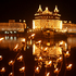 Devotees offers prayers at the illuminated Golden Temple, Sikh's holiest temple, during the birth anniversary of Guru Nanak, in Amritsar, India. Photo / AP