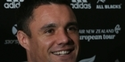Watch: All Blacks: Baby talk with Dan Carter