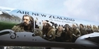 Watch: Raw: The Hobbit flies into town